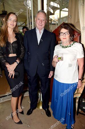 Masha Markova, guest and Sandra Esquilant