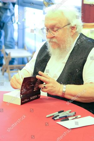 George R. R. Martin, author of 'Game of Thrones' books
