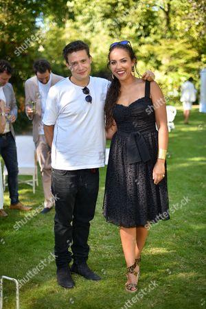 Adam Waymouth and Princess Alia al-Senussi