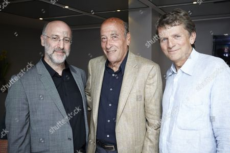 Stock Photo of Mark Lewisohn and Richard Lester