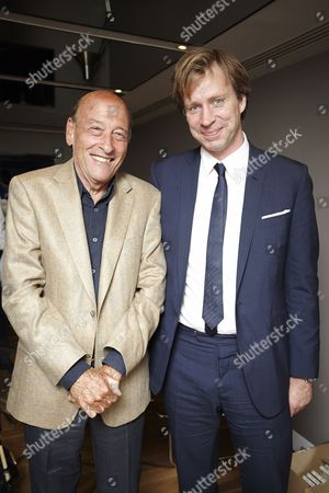 Director Richard Lester with Giles Martin, son of the Beatles producer George Martin