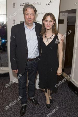 Stock Picture of Roger Allam and Rebecca Saire