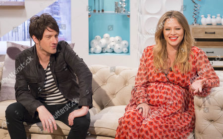 Alistair Griffin and Kimberley Walsh