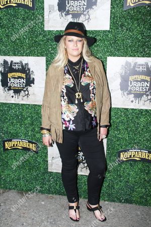 Editorial picture of Kopparberg Urban Forest Launch Party, London, Britain - 02 Jul 2014