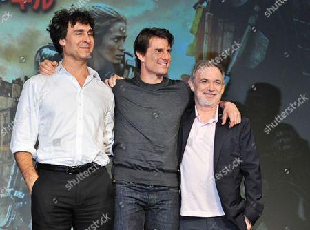 Stock Image of Doug Liman, Tom Cruise, Erwin Stoff