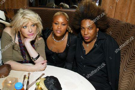 Courtney Love, Eve Jeffers and Macy Gray