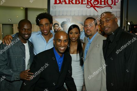 Stock Picture of Sean Patrick Thomas, Micheal Ealy, Jazsmin Lewis, and Tim Story
