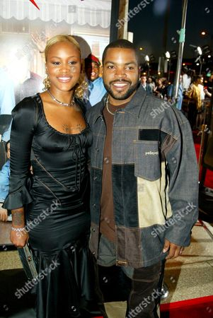 Eve Jeffers and Ice Cube