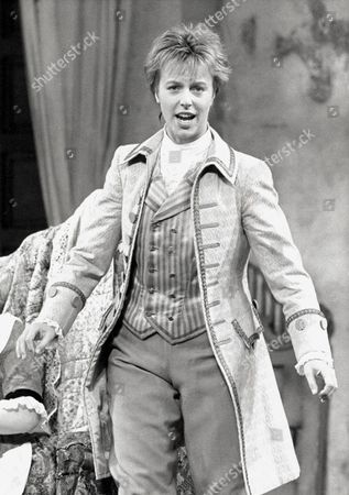 ANNE SOFIE VON OTTER IN 'MARRIAGE OF FIGARO' AT THE ROYAL OPERA HOUSE, LONDON, BRITAIN - 1985