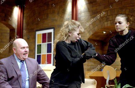 Robert Austin, Alison Pargeter and Saskia Butler.