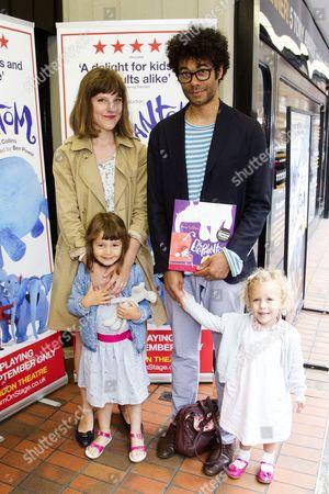 Lydia Fox, Richard Ayoade and family