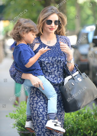 Stock Image of Miranda Kerr and Flynn Bloom