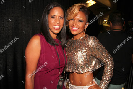 Michelle Ebanks and Chante Moore