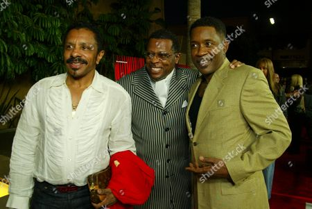 Stock Picture of Ron Tyson, Ollie Woodson & Harry McGiberry