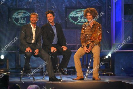 Editorial picture of 'AMERICAN IDOL' TV SHOW, AMERICA - 16 JUL 2002