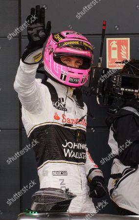 Editorial image of British Formula One Grand Prix motor racing, Silverstone, Britain - 06 Jul 2014