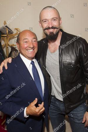 Arnold M Crook (Producer) and Hugh Jackman