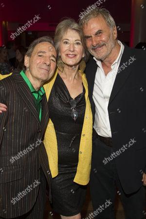 Harry Shearer (Joe), Maureen Lipman (Elli) and Oliver Cotton (Author/Billy)