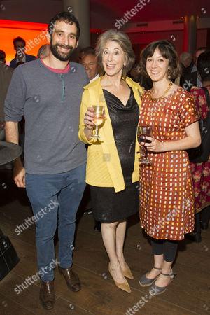 Adam Rosenthal, Maureen Lipman (Elli) and Amy Rosenthal