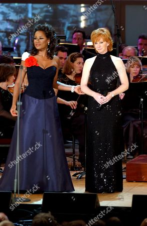 Denyce Graves and Reba McEntire