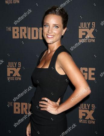 Editorial picture of 'The Bridge' season 2 television premiere, Los Angeles, America - 07 Jul 2014
