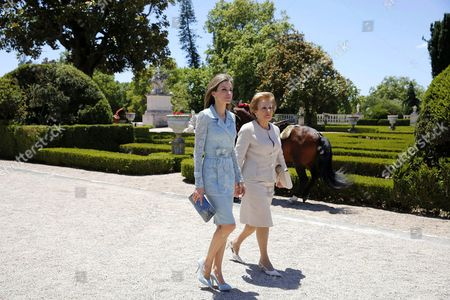 Editorial photo of Spanish Royals visit to Lisbon, Portugal - 07 Jul 2014