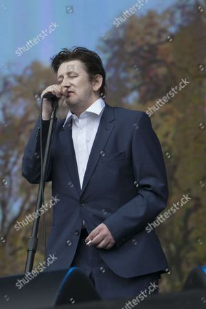 The Pogues perform at the Barclaycard British Summertime Festival, Hyde Park, London, 05/07/14