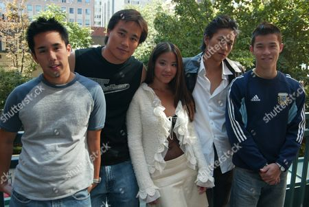 Parry Shen, Karin Anna Cheung, Roger Fan, Sung Kang and Justin T