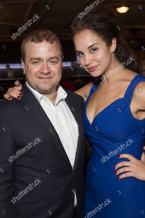 Stock Photo of Stuart Piper and Alexandra Silber