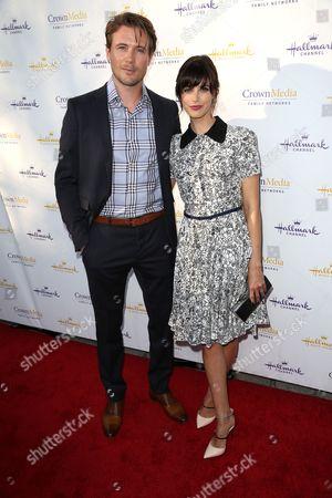 John Reardon and Meghan Ory