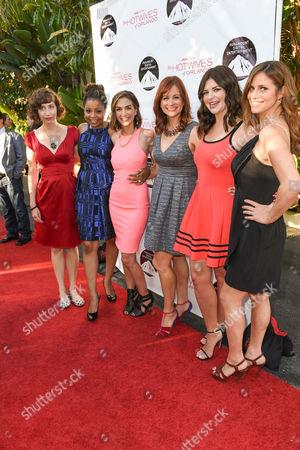Kristen Schaal, Tymberlee Hill, Danielle Schneider, Dannah Phirman, Casey Wilson and Andrea Savage
