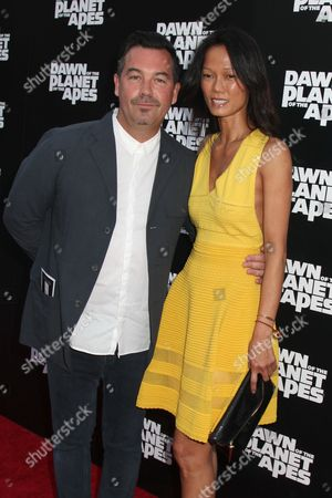 Stock Image of Duncan Sheik and Nora Ariffin