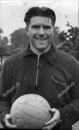 Stock Picture of Ken Tucker Footballer West Ham United Fc.