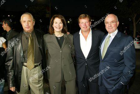 William Friedkin, Sherry Lansing, Robert Jaffe and Stanley Jaffe