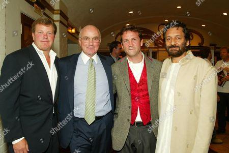 Robert Jaffe, Stanley Jaffe, Paul Feldsher and Director Shekhar Kapur