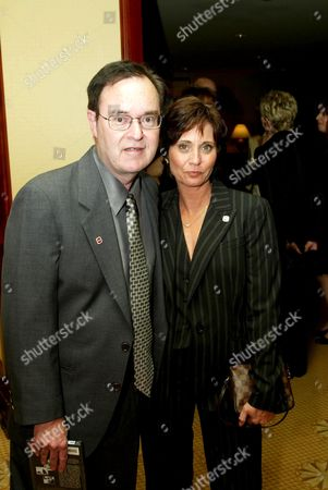 DAVID LANDER AND WIFE KATHY.