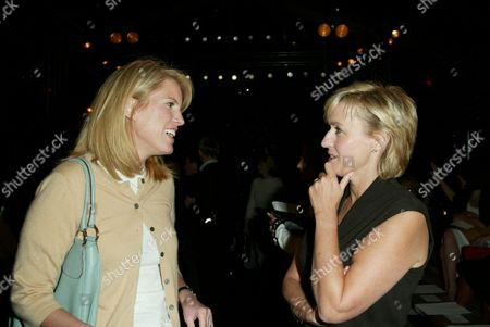 Kate Betts and Tina Brown