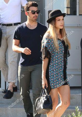 Stock Picture of Joe Jonas and Blanda Eggenschwiler