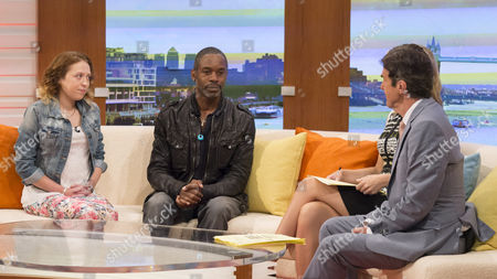 Kathryn Hodgson and Wil Johnson with Charlotte Hawkins and John Stapleton