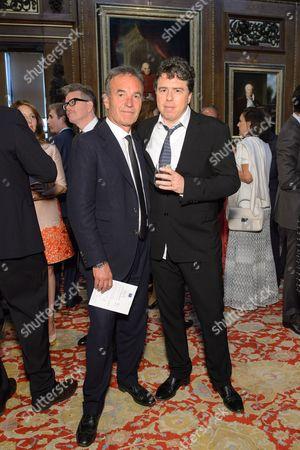 Nick Broomfield and Sacha Gervasi