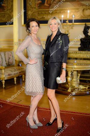Lady Dalit Nuttall and Nadja Swarovski