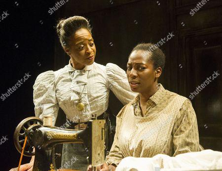 Dawn Hope as Mrs Dickenson, Tanya Moodie as Esther
