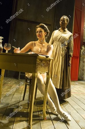 Stock Picture of Sara Topham as Mrs Van Buren, Tanya Moodie as Esther,