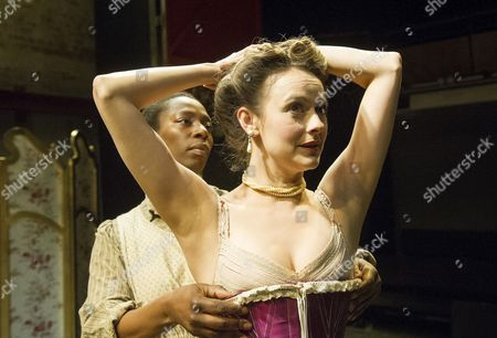 Editorial picture of 'Intimate Apparel' play performed at The Park Theatre, London, Britain - 08 Jul 2014