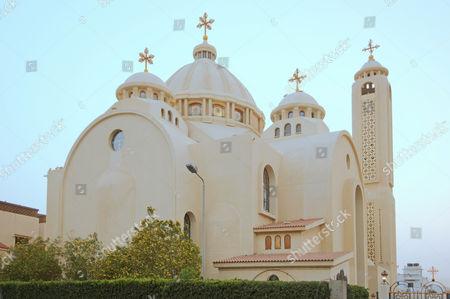 Coptic-Orthodox church All Saints who Live in Heaven, El Samaaeyeen, Sharm el-Sheikh, Sinai Peninsula, Egypt