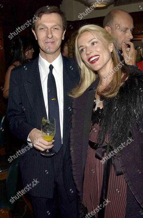 Stock Photo of Hugo Guinness and Daphne Guinness