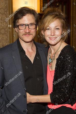 Jo Stone-Fewings (Buckingham) and Nancy Carroll