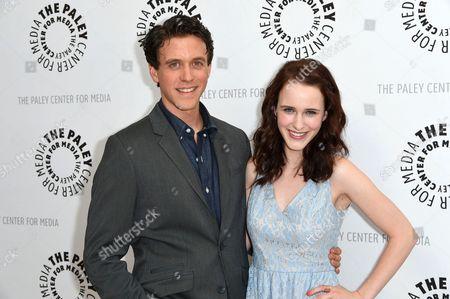 Ashley Zukerman and Rachel Brosnahan