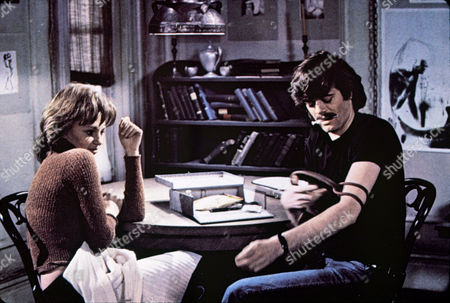 FILM STILLS OF 'BELIEVE IN ME' WITH 1971, ACCESSORIES, JACQUELINE BISSET, DINING ROOM TABLE, HYPODERMIC NEEDLE, INJECTING, MICHAEL SARRAZIN IN 1971