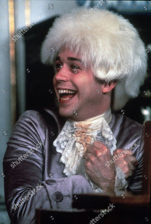 FILM STILLS OF 'AMADEUS' WITH 1984, CLOTHING, COSTUME, MILOS FORMAN, TOM HULCE IN 1984